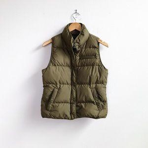 J. Crew : 'Highland' Down Puffer Vest Size XS/S